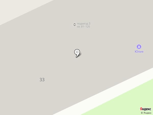 Фотостудия Александра Невского на карте Брянска