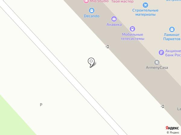 Строительные материалы на карте Брянска