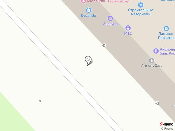 Побег на карте Брянска