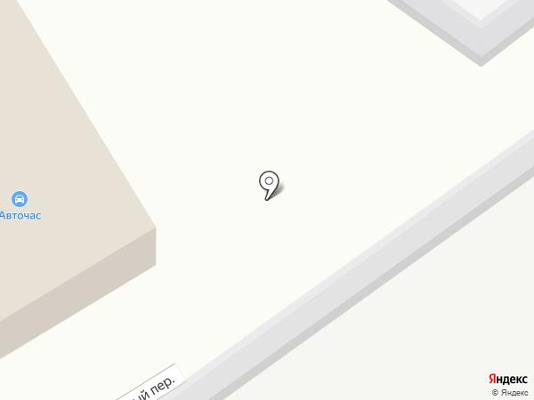 Автоштрих на карте Петрозаводска