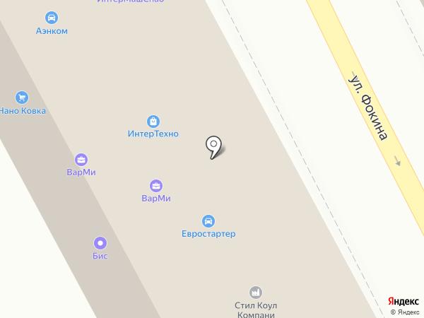 СтройМакс на карте Брянска