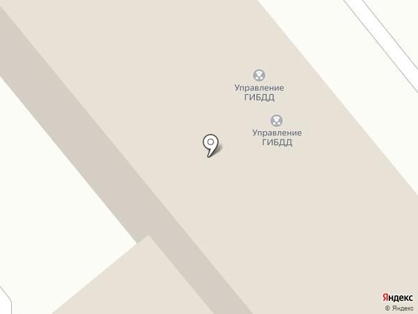 Управление ГИБДД на карте Брянска