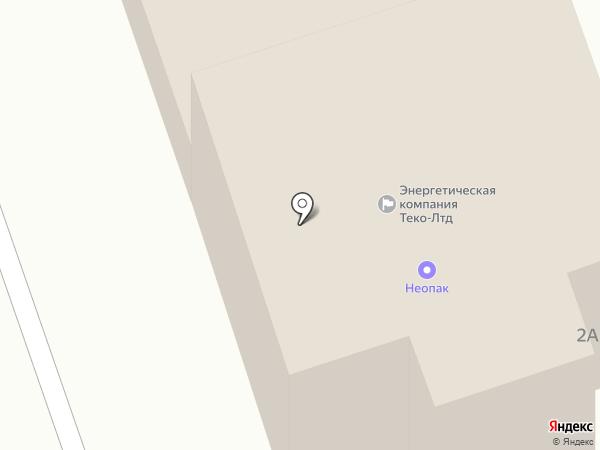 Неопак на карте Петрозаводска