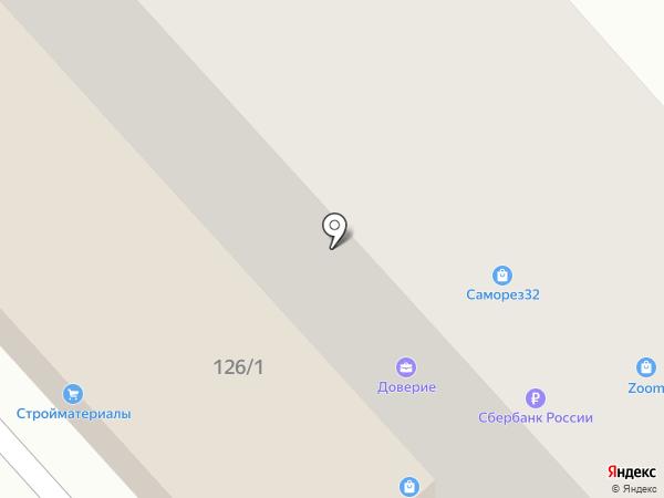 CoMobile service на карте Брянска