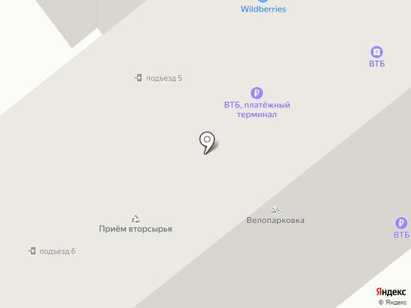 Лазер на карте Брянска