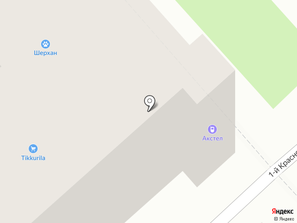 АксТел на карте Брянска