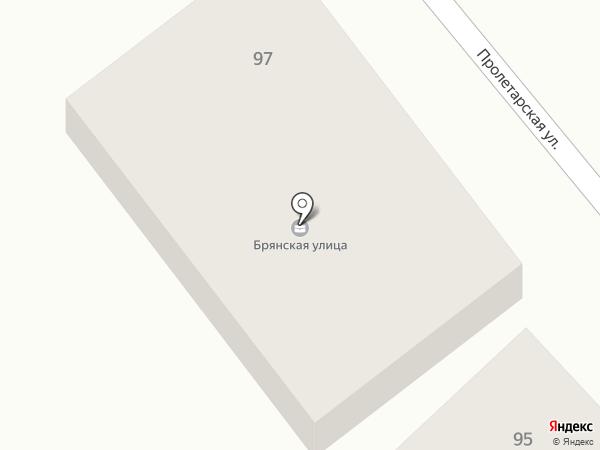 АЗС на карте Брянска