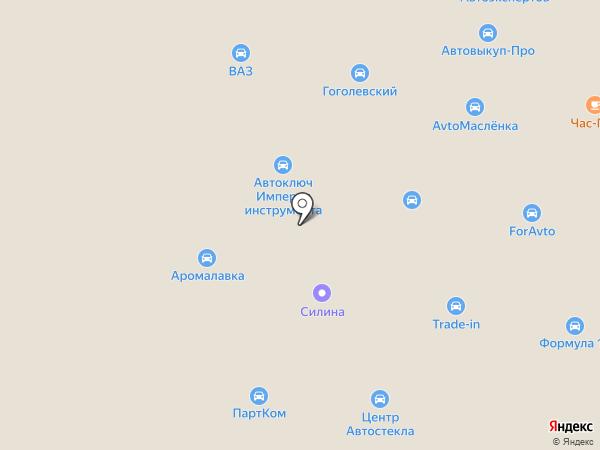 Автозапчасти ВАЗ, ОКА, НИВА на карте Петрозаводска