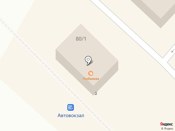 Брянский Клен на карте Брянска