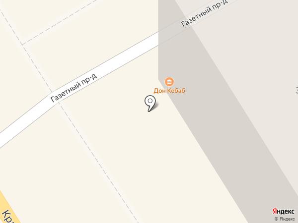 Идеал на карте Петрозаводска
