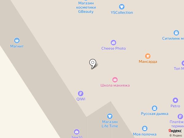 Аура на карте Петрозаводска