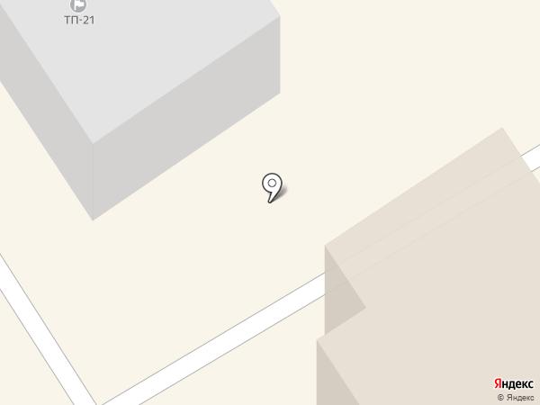 Гостиница №1 на карте Петрозаводска