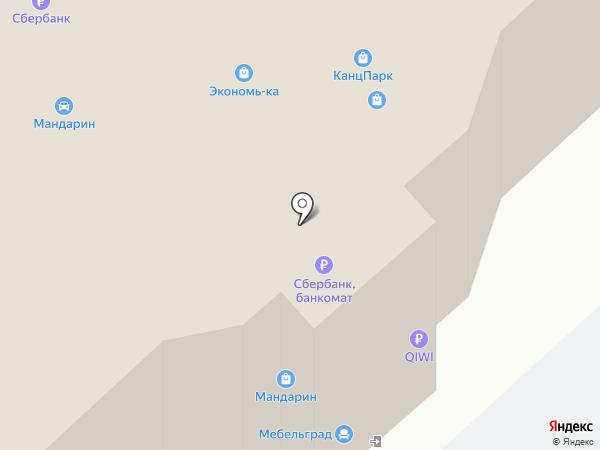 Триал-Спорт на карте Брянска