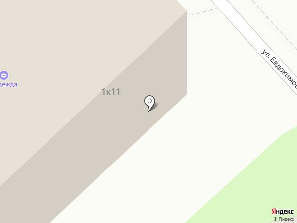 Андреевский Парк на карте Брянска