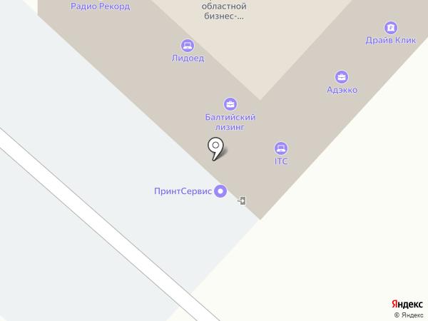 Мега media group на карте Брянска