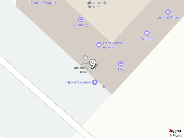 Желтые Страницы Брянск на карте Брянска