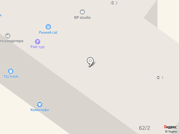 Росс-Тур на карте Брянска