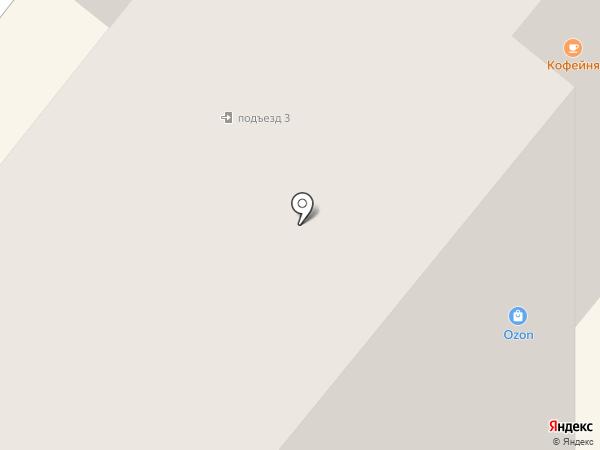 Сябр на карте Брянска