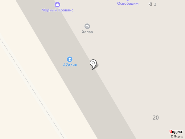 Варница на карте Петрозаводска