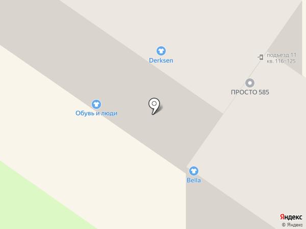 Магазин нижнего белья на карте Брянска