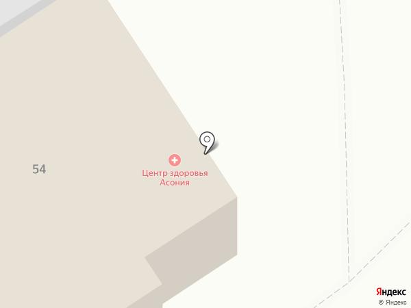 Пилот на карте Петрозаводска