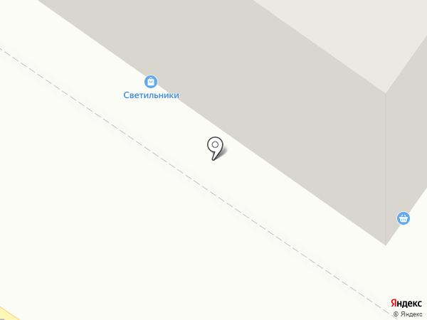 Народный на карте Петрозаводска