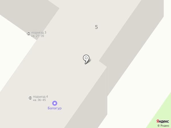 Балагур на карте Брянска