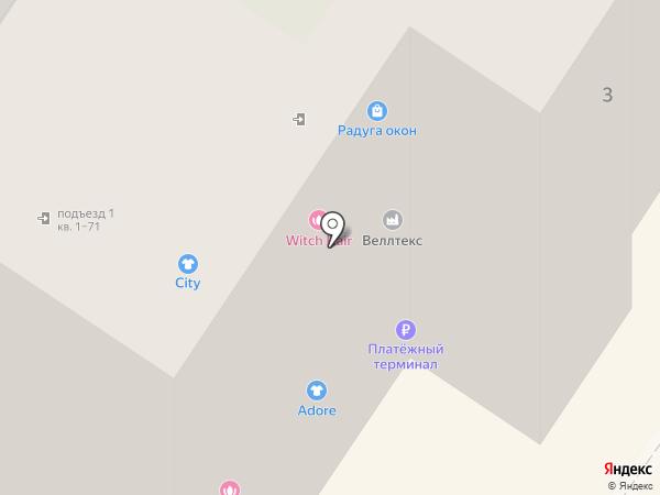 Веллтекс на карте Брянска