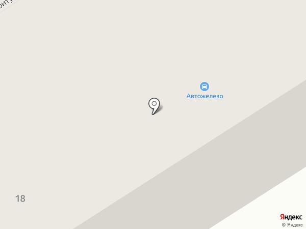 Автожелезо для ВАЗ на карте Петрозаводска