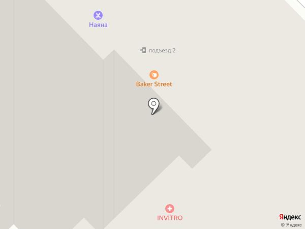 Алёнка на карте Брянска