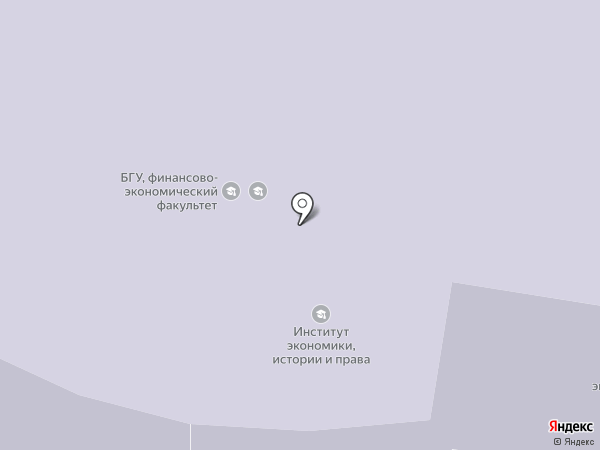 БГУ на карте Брянска