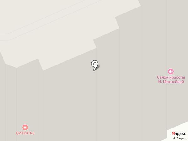 Салон красоты Ирины Михалёвой на карте Брянска
