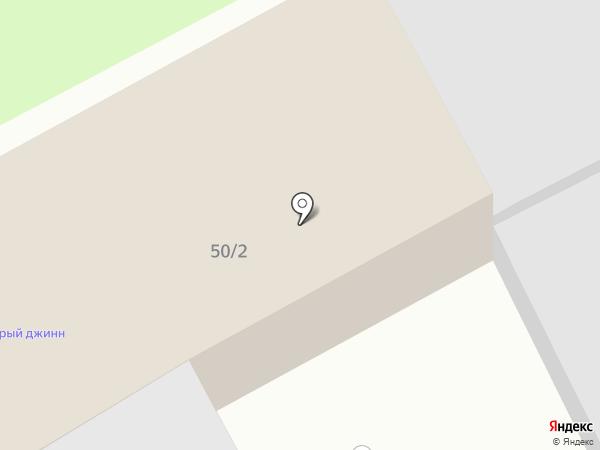 Лазур на карте Брянска