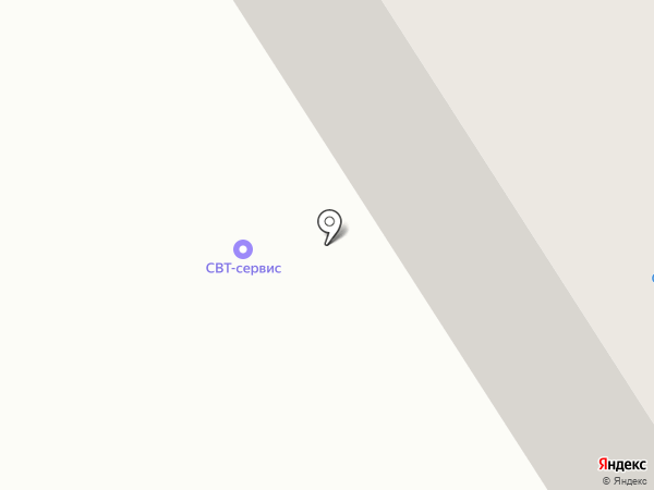 СВТ-Сервис на карте Петрозаводска