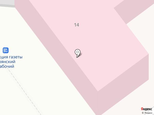 Детская городская больница №2 на карте Брянска
