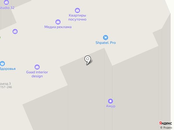 Ваниль на карте Брянска