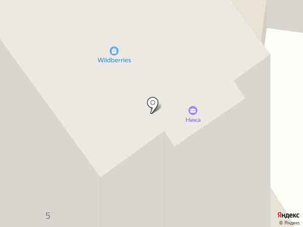 Автомост на карте Брянска