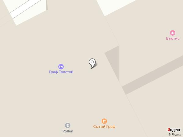 Чуб и Челка на карте Брянска