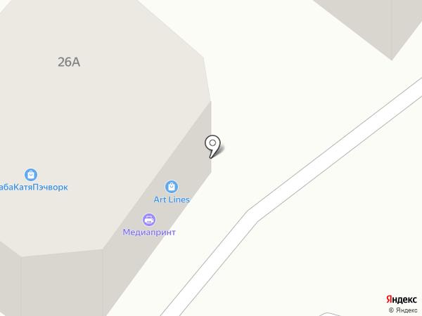 ПАУК на карте Брянска