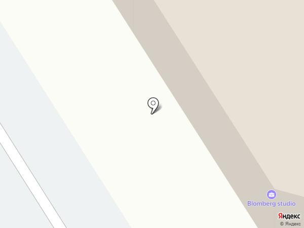 Иномарка на карте Петрозаводска