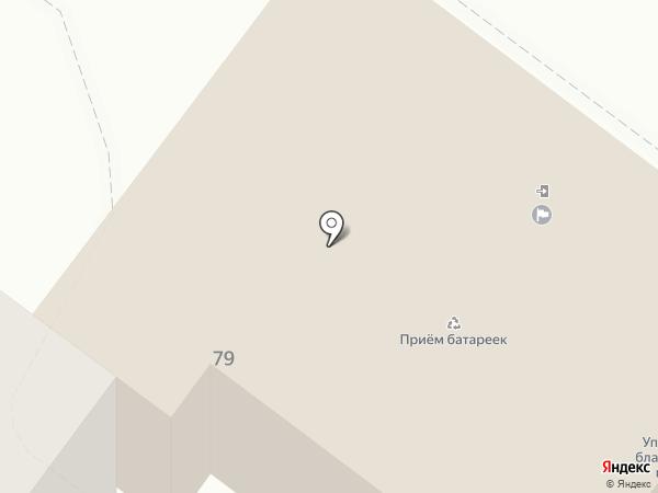 Отдел муниципального контроля на карте Брянска