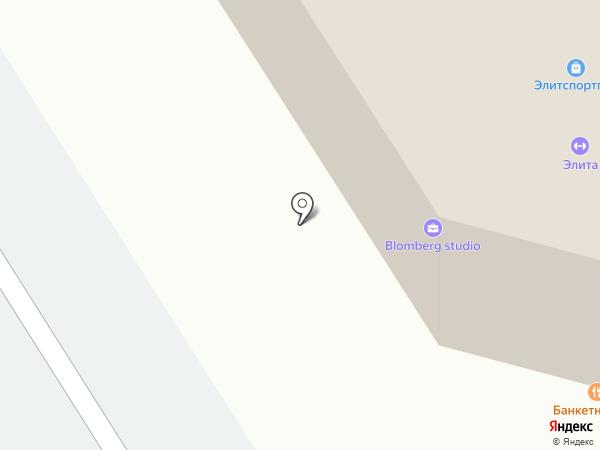 Blomberg Studio на карте Петрозаводска