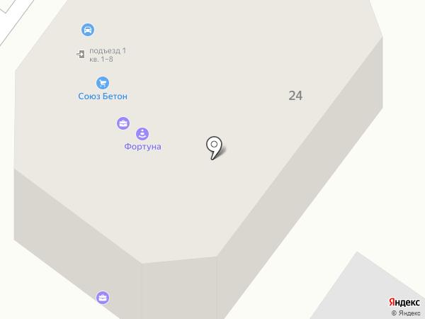 Фокинский цемент на карте Брянска