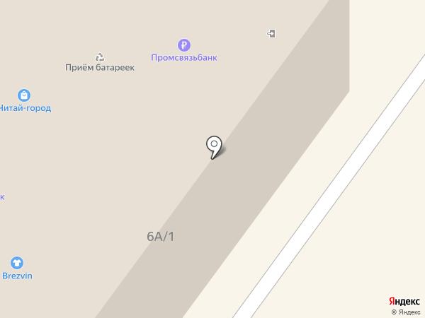Авантаж на карте Брянска