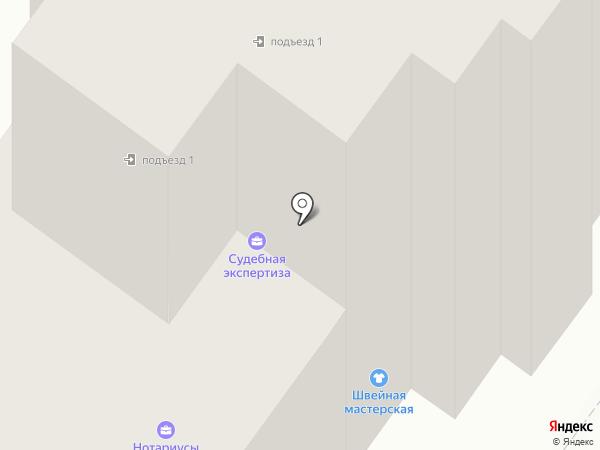 Брянская областная нотариальная палата на карте Брянска