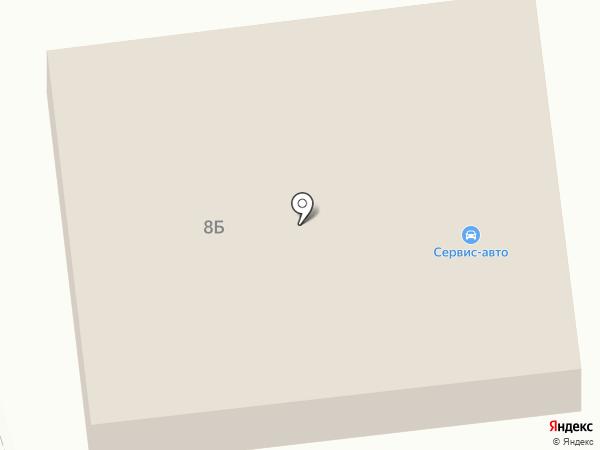 Сервис-Авто на карте Петрозаводска