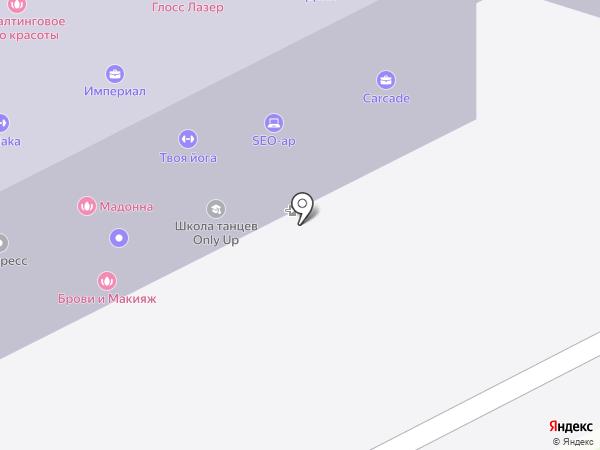 Жклдорпроект на карте Брянска