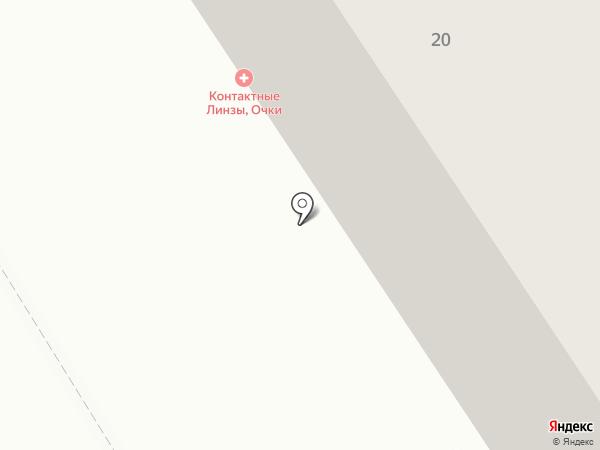 Центр коррекции зрения на карте Петрозаводска