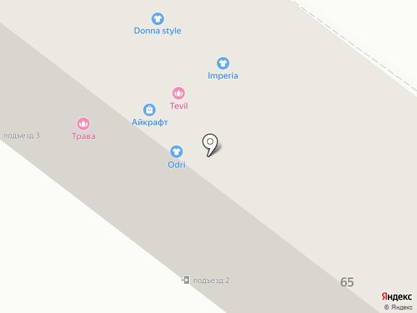 Прано на карте Брянска