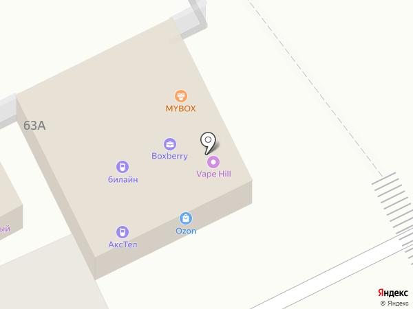 Даниловский бар на карте Брянска